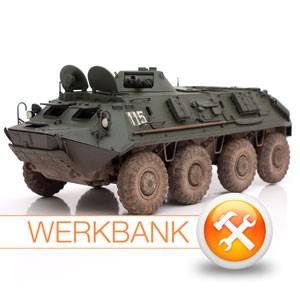 Schützenpanzerwagen SPW-60 (NVA) in 1:35 von Trumpeter