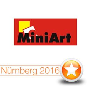 Internationale Spielwarenmesse Nürnberg 2016: MiniArt
