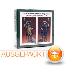 Art Girona AZ70/44: Offizier des Leib-Infanterieregiments Hessen Kassel